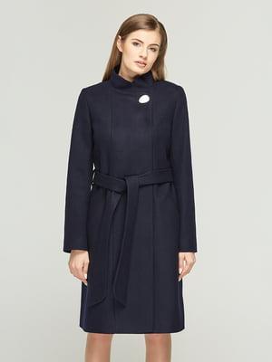 Пальто синее | 5645385
