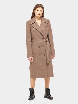Пальто коричневое | 5645392