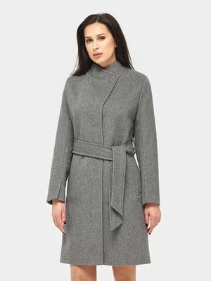 Пальто серо-черное | 5645394