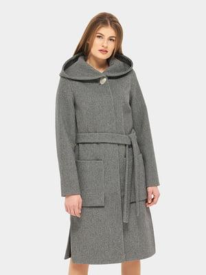 Пальто сіро-чорне   5645409