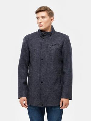 Пальто синее | 5645421