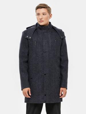 Пальто синее | 5645428