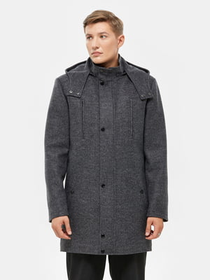 Пальто серое | 5645431