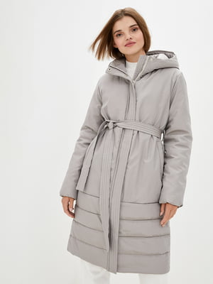 Куртка сіра | 5645449