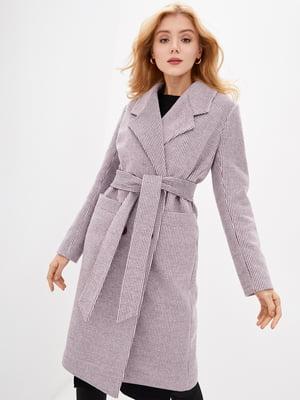 Пальто бордовое | 5645405