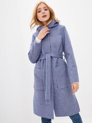 Пальто синє   5645411