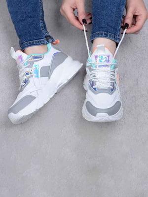 Кросівки біло-сірі | 5644077