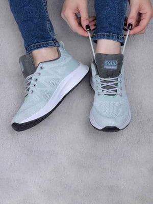 Кросівки бірюзового кольору | 5644189