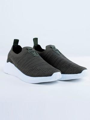 Кросівки кольору хакі | 5644223