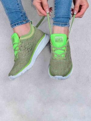 Кросівки зелені | 5644247
