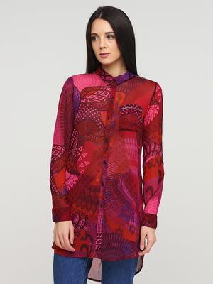 Рубашки разноцветная в принт   5641583