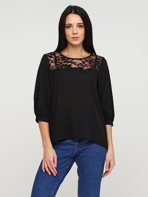Блуза черная | 5641585
