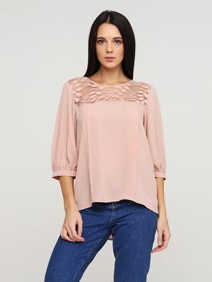 Блуза пудрового цвета | 5641588
