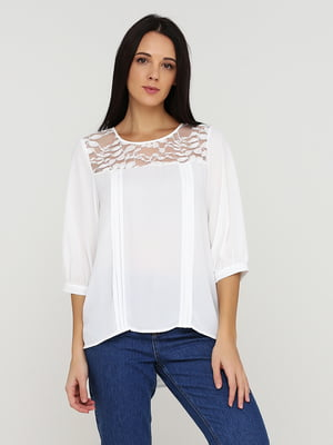 Блуза белая   5641589