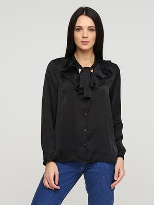 Блуза черная   5641590
