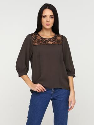 Блуза коричневая | 5641591