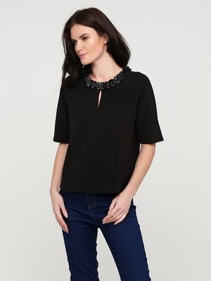 Блуза черная | 5641606