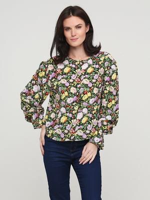 Блуза разноцветная в принт | 5641607