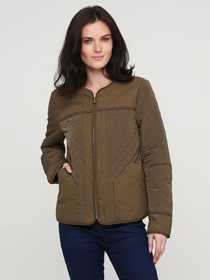 Куртка цвета хаки   5641673