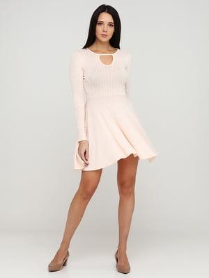 Сукня пудрового кольору | 5641703