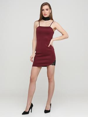 Сукня бордова   5641704