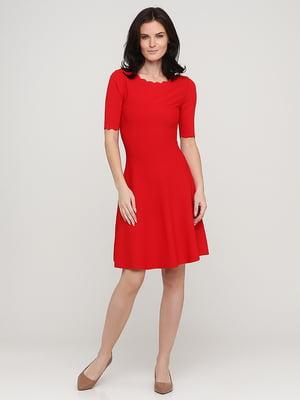 Платье красное | 5641709
