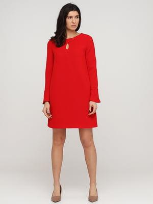 Платье красное | 5641714