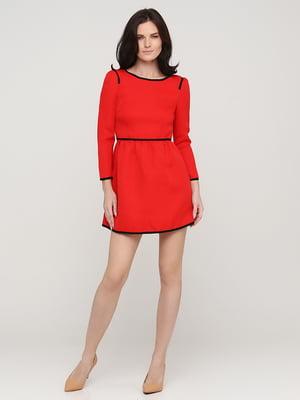 Платье красное | 5641715