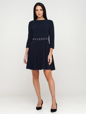 Платье темно-синее | 5641731