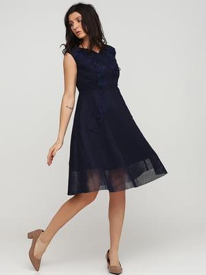 Платье темно-синее | 5641737