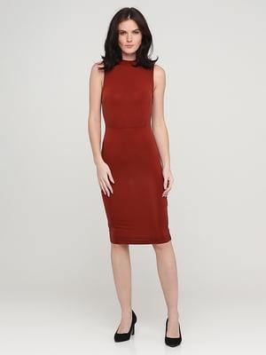 Сукня теракотового кольору | 5641738
