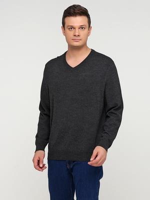 Пуловер серый | 5641770