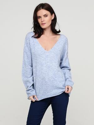 Пуловер голубой   5641784
