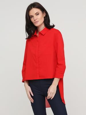 Рубашка красная   5641792