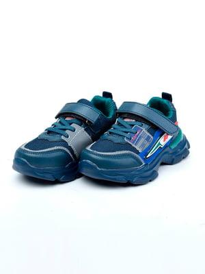 Кроссовки синие | 5644459