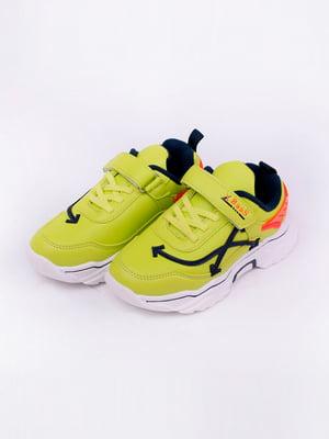 Кросівки салатового кольору | 5644612