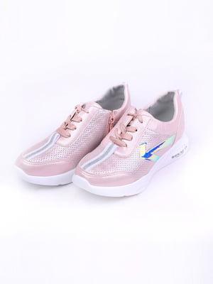 Кросівки рожеві | 5644655