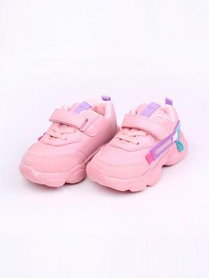 Кроссовки розовые | 5644667