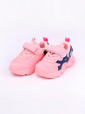 Кроссовки розовые | 5644671