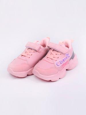 Кроссовки розовые | 5644711