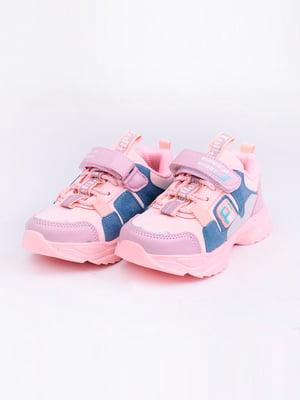 Кроссовки розовые | 5644736