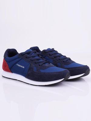 Кроссовки синие | 5645227
