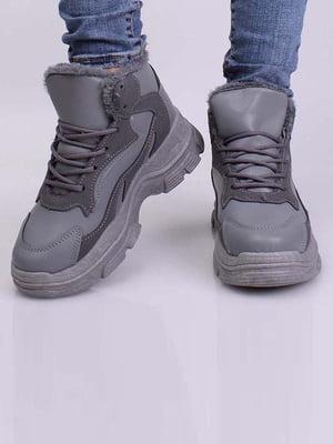 Кросівки сірі | 5645249