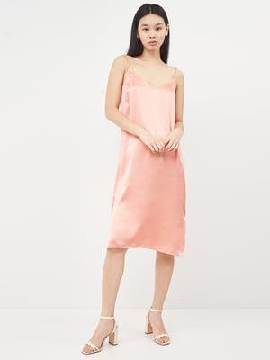 Платье персикового цвета | 5619682