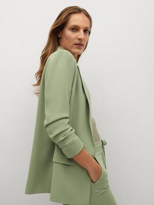 Жакет оливкового цвета | 5646883