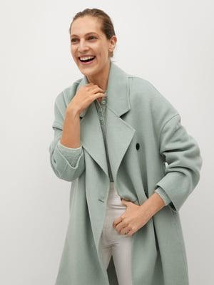 Пальто цвета ментола | 5646915