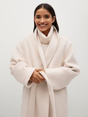 Пальто цвета пудры | 5646928