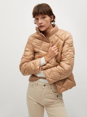 Куртка бежевого кольору | 5646969
