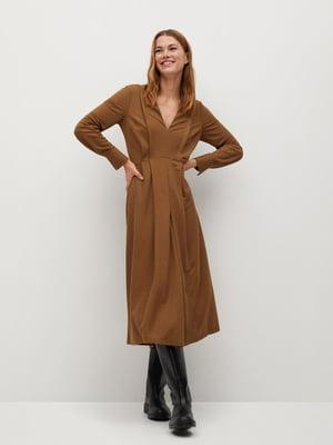 Сукня теракотового кольору | 5647030