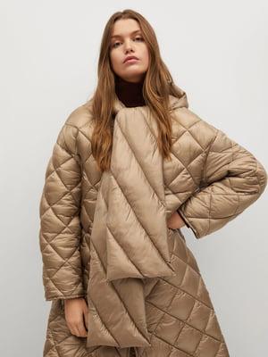 Куртка бежевого кольору | 5647043